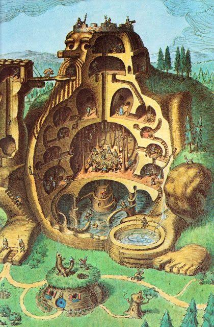 The Troll Book  Michael Berenstain ~ Random House, 1980