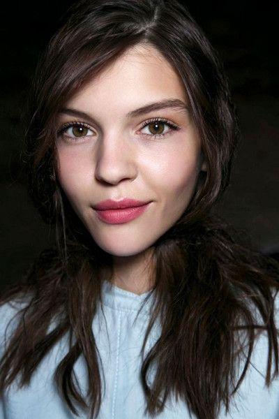 Go Completely Rosy - No-Makeup Makeup Ideas - Photos