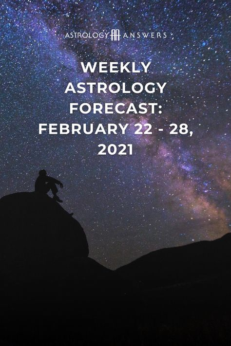 It's time to get excited because we have a Full Moon in Virgo, which means that this is the week the Universe will deliver on your wishes. ✨ #astrology #astrologyanswers #astrologyoverview #astrologyforecast #februaryastrology #weeklyastrology