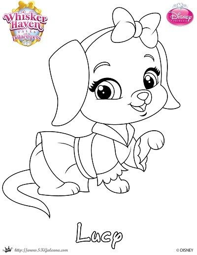 Whisker Haven Printable Coloring Pages And Activities Princess