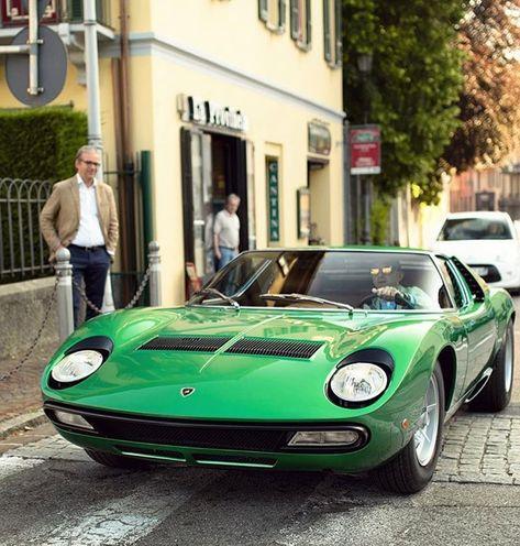 I Love Italian People Lamborghini Miura P 400 Sv By Aaltomotive