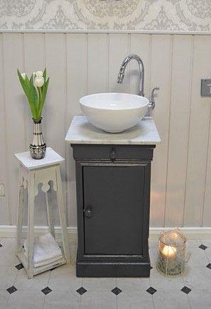 Waschtische Mit Marmorplatte Land Liebe Badmobel Landhaus In 2020 Waschtisch Marmorplatte Marmor