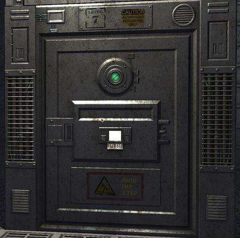 C4 Engine Forums View Topic New Sci Fi Textures Wip Thread Spaceship Interior Door Texture Metal Props