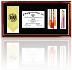 st marys university church hill classics embossed murano diploma frame bachelors masters commencement pinterest bachelor master - Diploma Frames With Tassel Holder