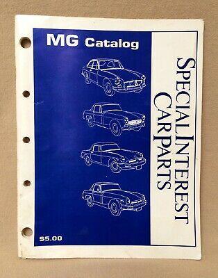 Advertisement Ebay Mg Car Parts Catalogue 1987 By Special Interest Car Parts In 2020 Parts Catalog Car Parts Mg Cars