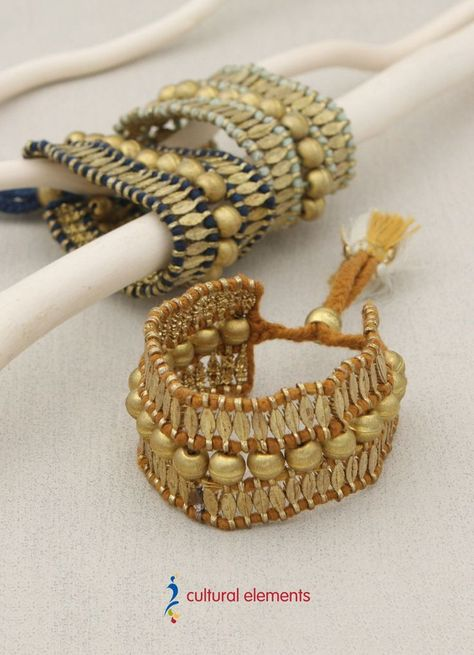Good As Gold Woven Br Bracelet India Bracelets And
