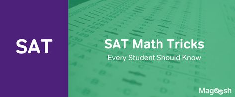 5 SAT Math Tricks Every Student Should Know