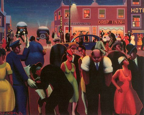 He Painted The Feverish Nights Of The Harlem Renaissance In 2020 Harlem Renaissance Artists African American Artist Archibald Motley