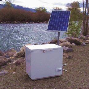 Store Solar Freezers Solar Refrigerators Dc Power 12 24v Off Grid Refrigeration By Sundanzer Solarpanels S In 2020 Solar Refrigerator Solar Panels Solar Energy Diy