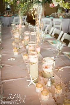40 Amazing Beach Wedding Centerpieces | Weddingomania | Once Upon A ...