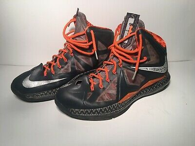 low priced f1294 aeb03 NEW Men's Nike LeBron X (10) BHM