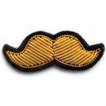 Clairance de 60% la clientèle d'abord prix le moins cher Grande Moustache Argent | deco | Macon et lesquoy, Broderie ...