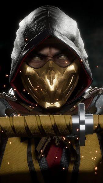 Scorpion Mortal Kombat 11 4k38402160 Wallpaper Personajes De
