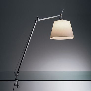 Tolomeo Mega Task Lamp With Clamp By Artemide Tlm0003 In 2020 Desk Lamp Lamp Floor Lamp Shades