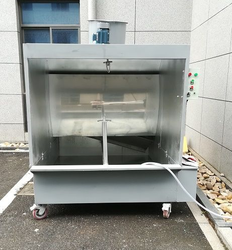 Water Curtain Spray Paint Booth Design In 2020 Spray Booth Water Curtain Paint Booth