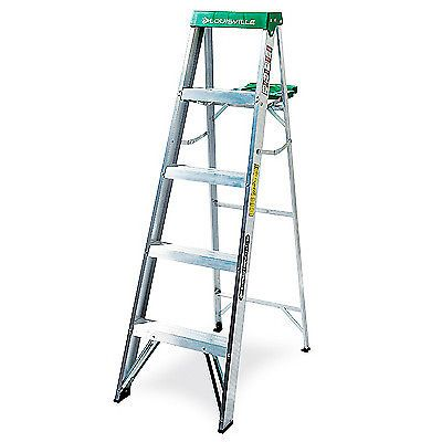 Ladders 112567 Louisville Ladder 5 Ft Step Ladder Aluminum