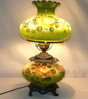 Vintage Electric Hurricane Glass Table Lamp Vintage Hurricane Lamps Glass Table Lamp Hurricane Oil Lamps