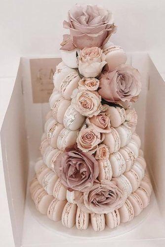 30 Popular Dusty Rose Wedding Ideas Wedding Forward In 2020 Macaroon Wedding Cakes Wedding Macarons Macaroons Wedding