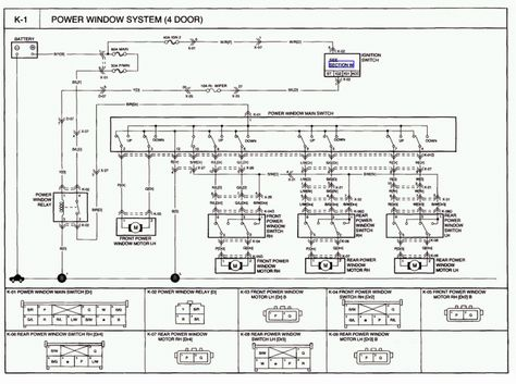KIA wiring diagrams free download for such models, as Ceed, Picanto