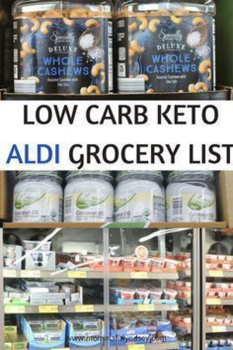 low carb aldi grocery list for keto diet #keto #lowcarb #ketogenic #aldi #detoxdiet