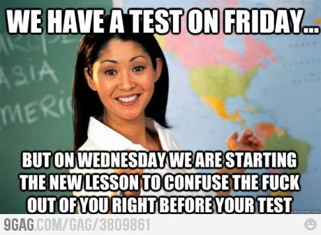 Teachers..