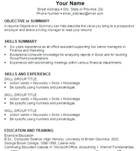 Resume Out Of College Komanrsd7 Cv Template First Resume Downloadable Resume Template