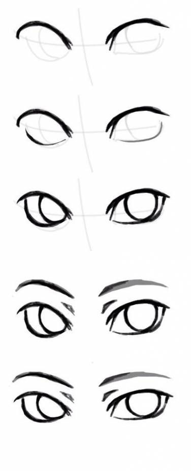 Pin By Crazy On Kak Risovat Drawing Tutorial Easy Anime Eye Drawing Drawing Tutorial Face