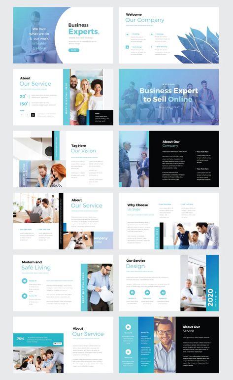 Business Expert PowerPoint Template