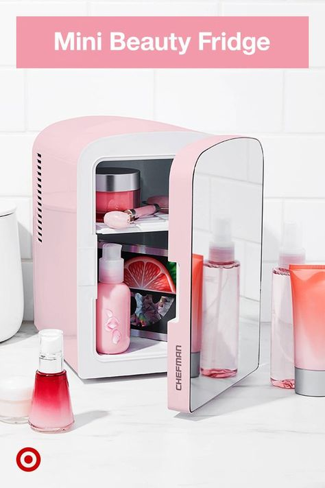 Organize  extend the life of beauty  skin care essentials with a personal fridge. Find mini fridges in a variety of sizes  features to pick the best one for you.