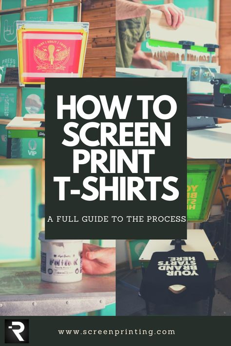 How to Screen Print on T-Shirts