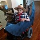 Venetian Gondolier – Cody's Wheelchair Costume 2012