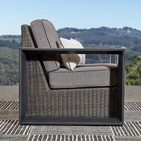 Member S Mark Adler 4 Piece Seating Set Sam S Club Outdoor Seating Set Deep Seating Deep Seating Patio Furniture
