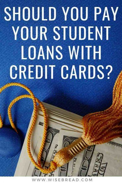 Should You Pay Your Student Loans With Credit Cards?