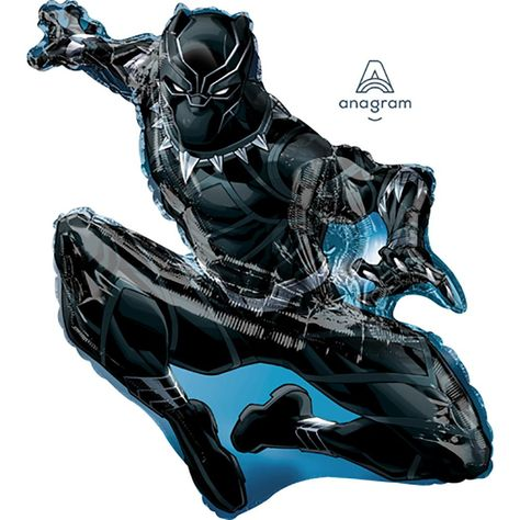 32″ BLACK PANTHER - Packaged
