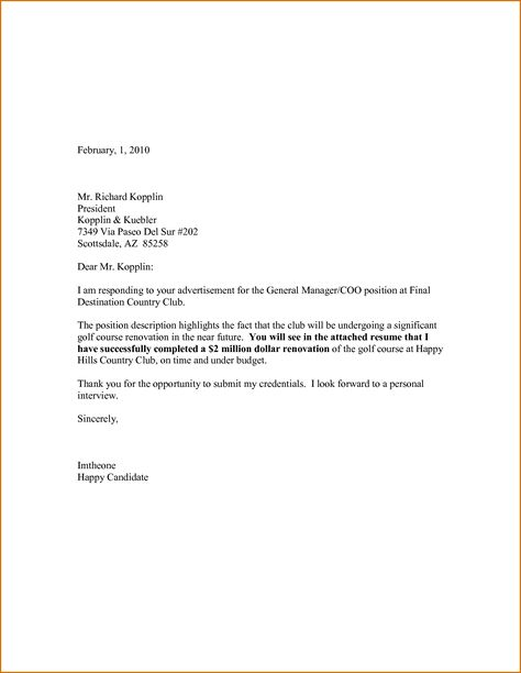 Job At Louisville Application Letter For Secretary Without Experience