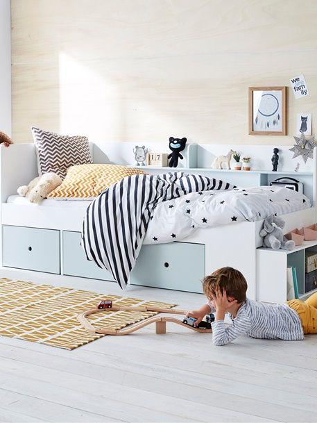 Schubladenbett Baseo Fur Kinder Weiss 5 Plattform Bett Kinder Zimmer Schlafzimmer Fur Kinder