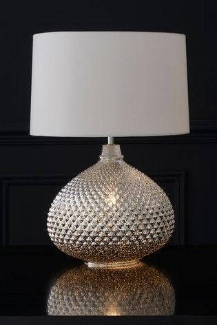 Buy Large Glamour Table Lamp From The Next Uk Online Shop In 2020 Table Lamp Bedside Table Lamps Lamp
