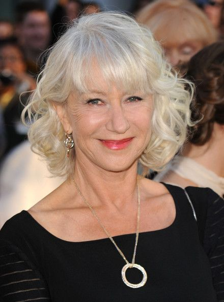 Helen Mirren's medium-length curls (photos)
