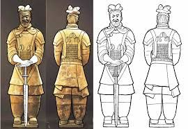 Image Result For Terra Cotta Soldiers Sketches Army Drawing
