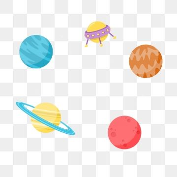 Cosmic Planet Decorative Border Solar System Clipart Cartoon Rocket Spacecraft Png Transparent Clipart Image And Psd File For Free Download Solar System Clipart Watercolor Flower Illustration Cosmic