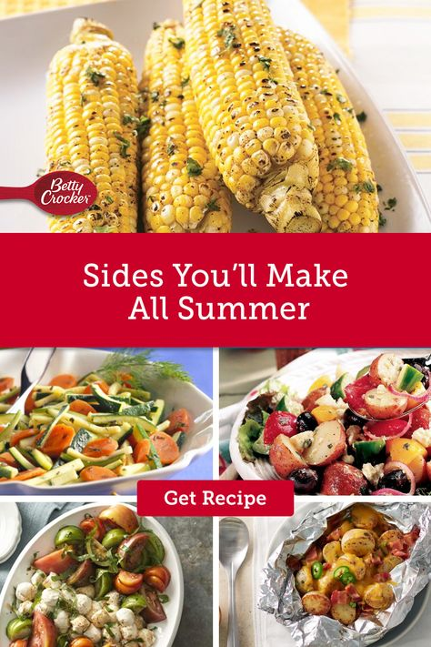 These summer side dishes are crowd-pleasers and perfect for a cookout or potluck. Pin these today to get into the summer spirit.