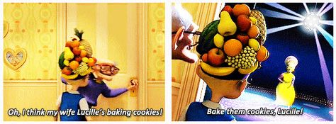 Bake them cookies Lucille!  Meet the Robinsons [gifs]