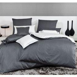 Satin Sheets Janine Pillowcase Single 80 80 Cm Mako Satin Bed Linen Modern Classic Black Janinejanine Ki In 2020 Farmhouse Bedding Satin Bedding Kids Bed Canopy