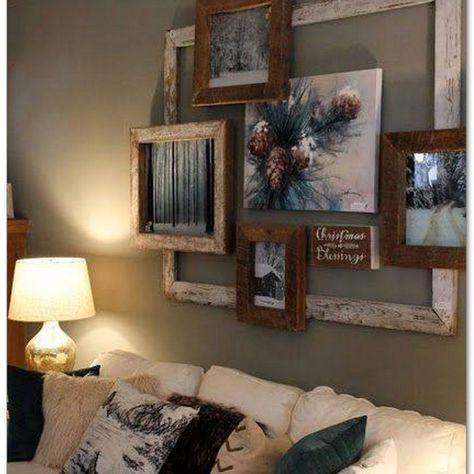 99 Diy Farmhouse Living Room Wall Decor And Design Ideas Rustic