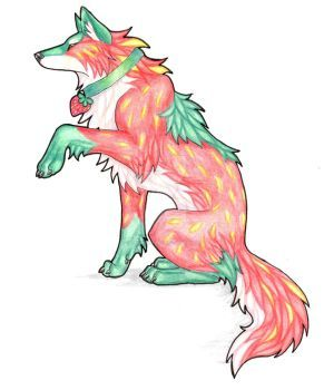 Strawberry By Captainmorwen Animal Sketches Wolf Sketch Wolf Colors