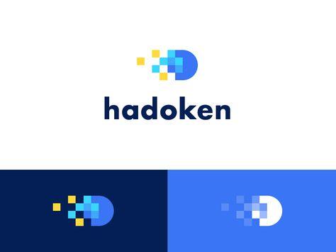 Hadoken lab Logo Design