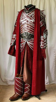 Lord Elrond Costume handcrafted by Ruby Bayan Llamas
