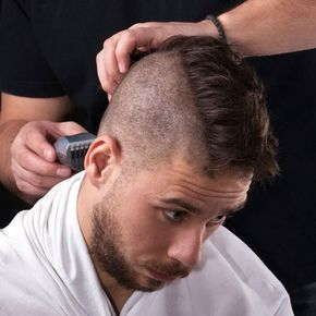 Thick Wide Mohawk Hairstyle - Cool Mohawk Styles For Men