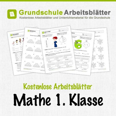 Kostenlose Arbeitsblätter und Unterrichtsmaterial zum Thema Zählen ...