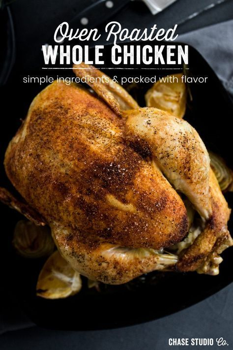 Homemade Oven Roasted Whole Chicken Oven Roasted Whole Chicken Whole Roasted Chicken Stuffed Whole Chicken